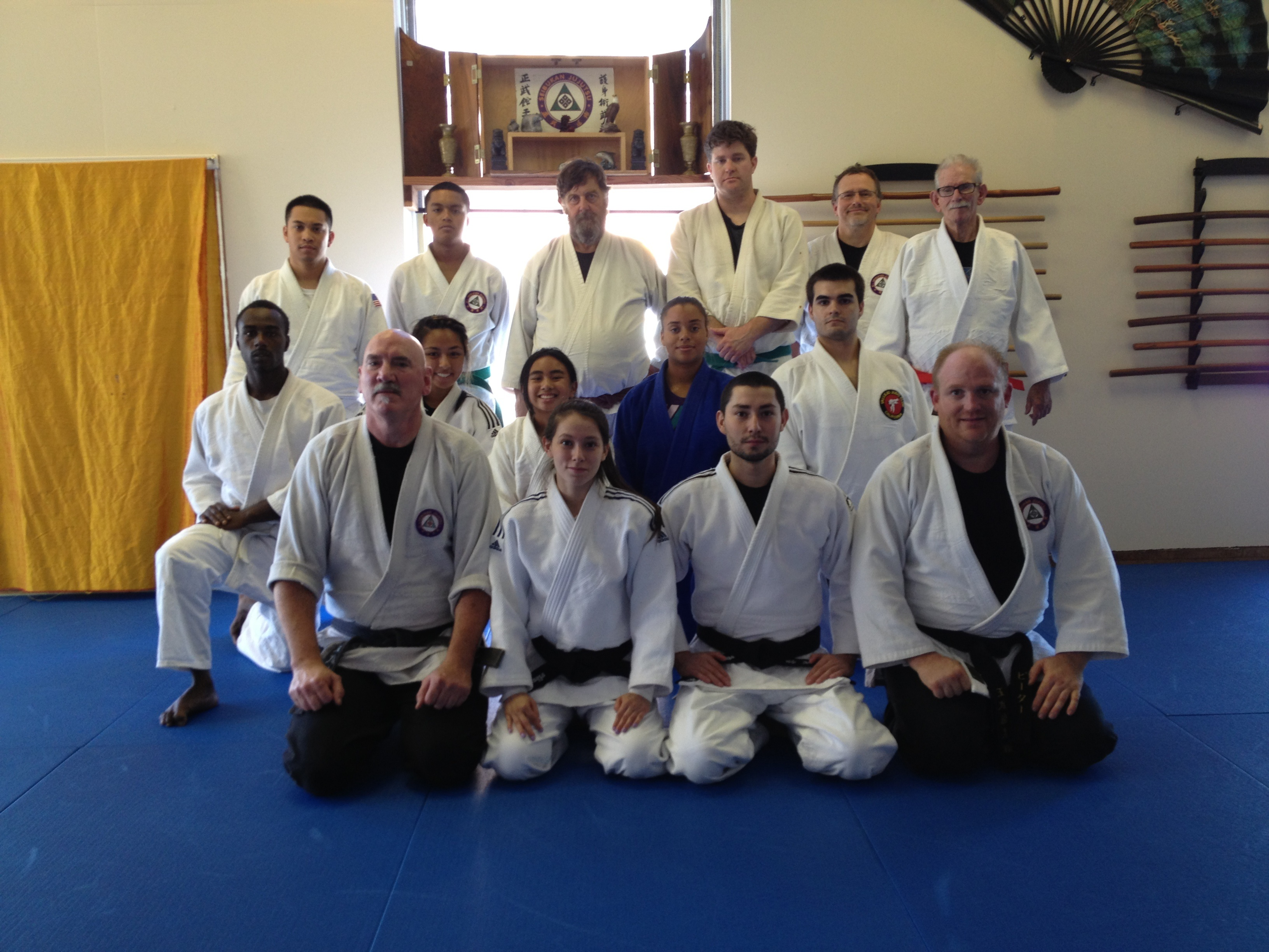 The Vallejo Judo Club and the Modern Warrior Arts Academy hold a friendship training.
