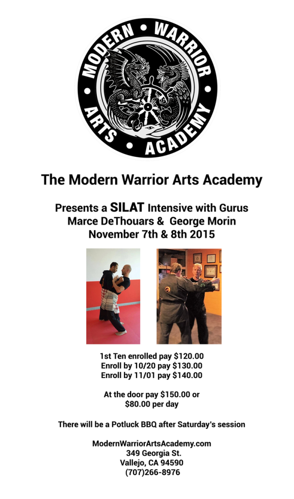 Silat Intensive with Gurus Marce DeThouars and George Morin
